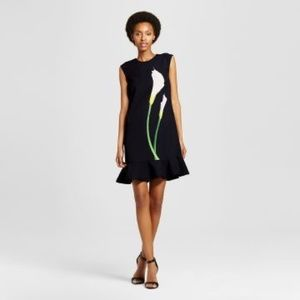 New Victoria Beckham for Target Black Calla Lily S